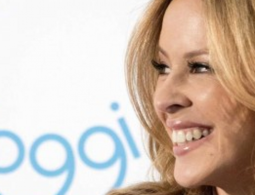 Kylie Minogue launches her collection with sloggi