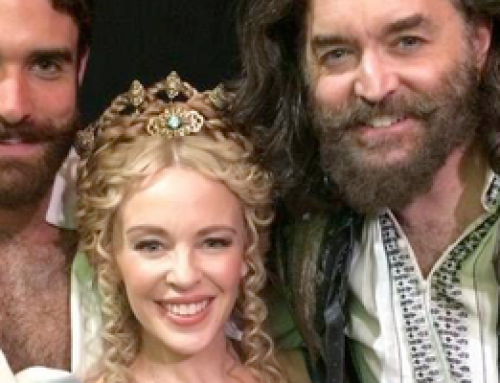 Kylie Minogue nailed it in Galavant