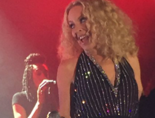 Kylie Minogue performs for the Waitrose Gala Dinner