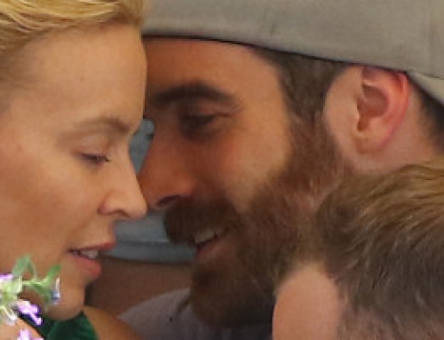 Kylie Minogue & Joshua Sasse on holidays in Portofino