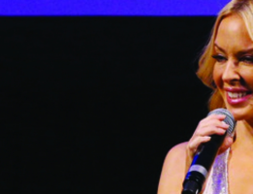 Kylie On Stage : The premiere with Kylie Minogue