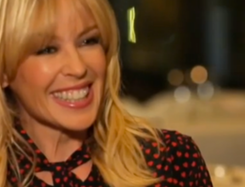 Kylie Minogue on interview with Nikos Aliagas for 50 Minutes Inside