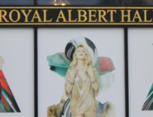 Kylie Minogue's pop up shop at the Royal Albert Hall