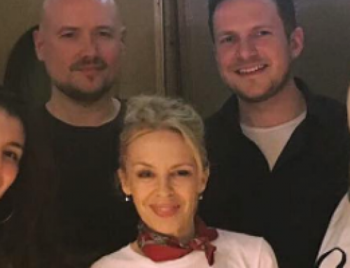 Kylie Minogue is back to the studio